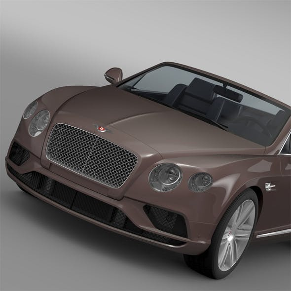 Bentley Continental GT V8 Convertible 2015 - 3DOcean Item for Sale