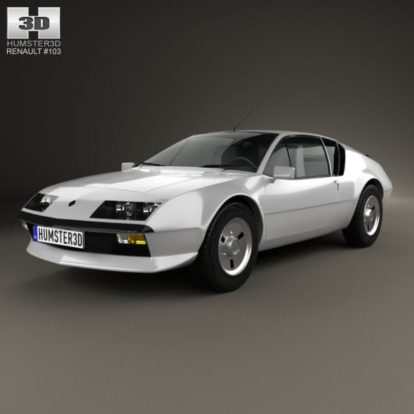 Renault Alpine A310 1976 - 3DOcean Item for Sale
