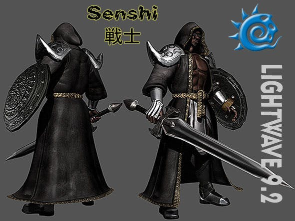 Senshi - 3DOcean Item for Sale