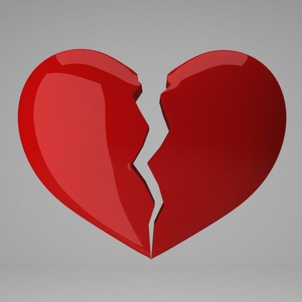 Broken Heart - 3DOcean Item for Sale