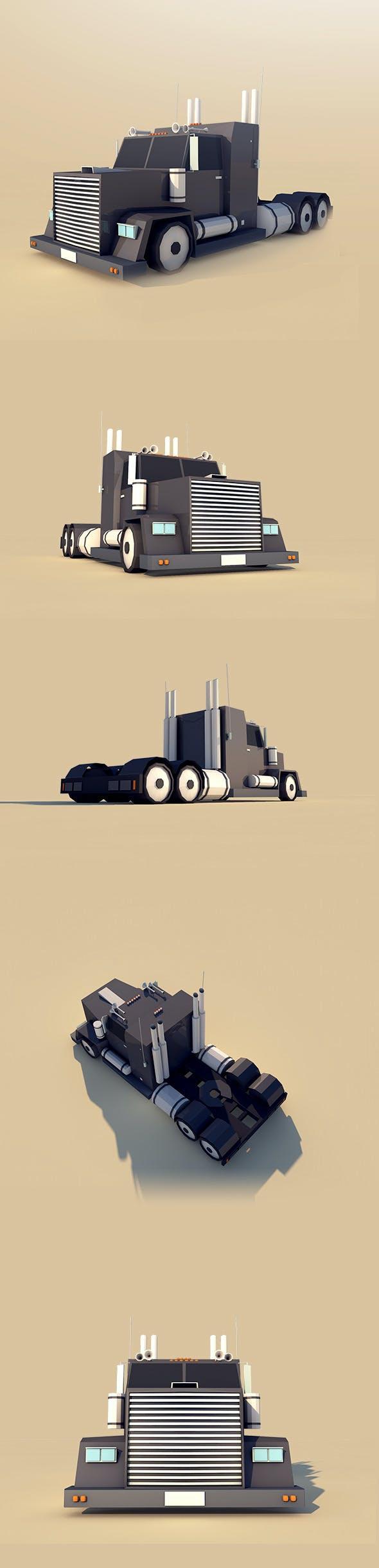 Big Truck - 3DOcean Item for Sale
