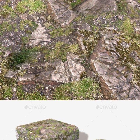 Rocky Hillside Seamless Texture