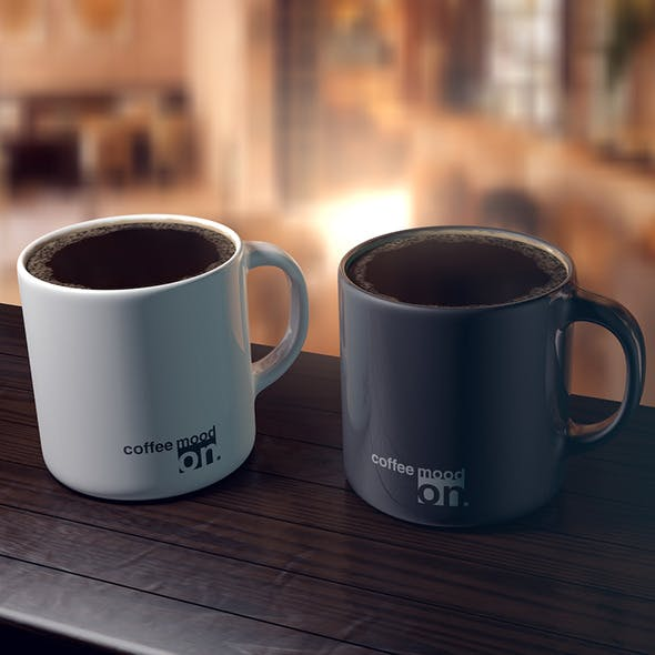Coffee cups (scene included)