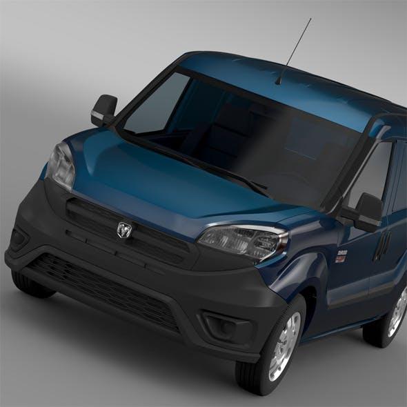 Ram ProMaster City Tradesman Cargo Van 2015 - 3DOcean Item for Sale