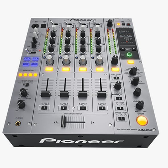 Dj Mixer Pioneer DJM850