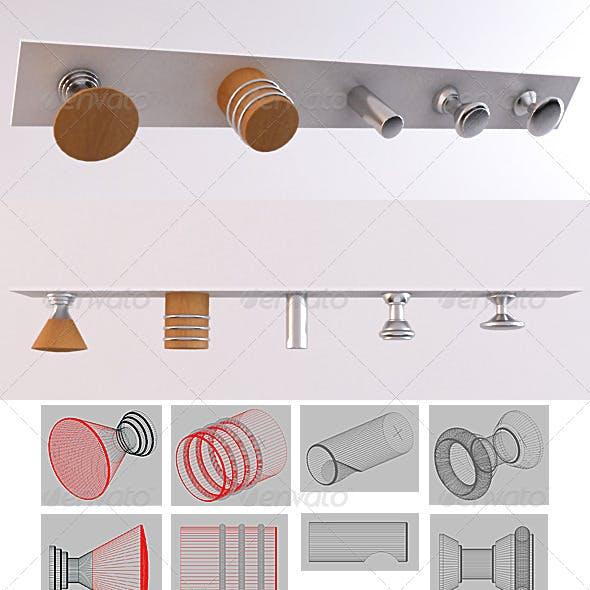 SET 02 - Furniture Handles