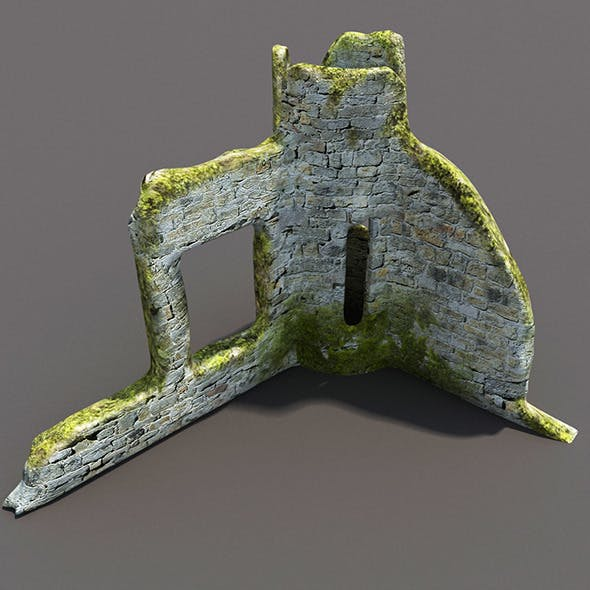 English Castle Ruin #3 - 3DOcean Item for Sale