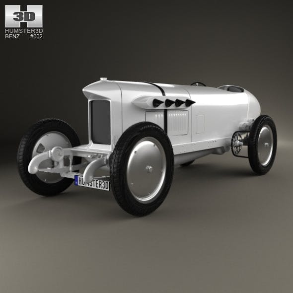 Benz Blitzen 1909 - 3DOcean Item for Sale