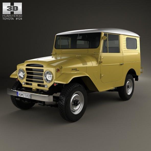 Toyota Land Cruiser (J20) hardtop 1955 - 3DOcean Item for Sale