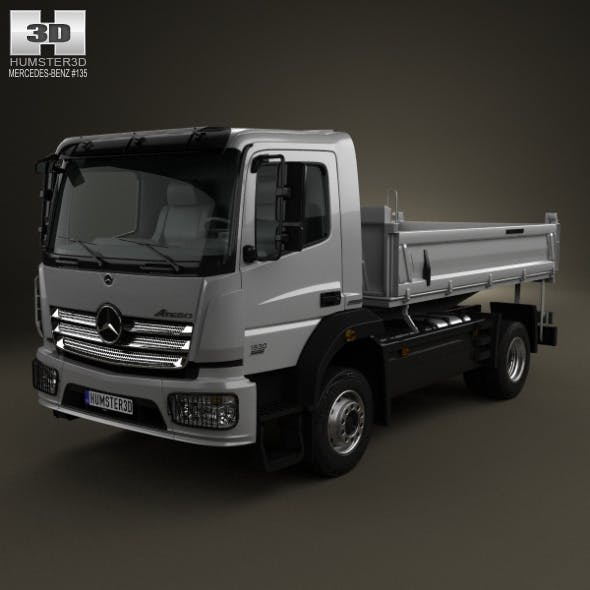 Mercedes-Benz Atego Tipper Truck 2013
