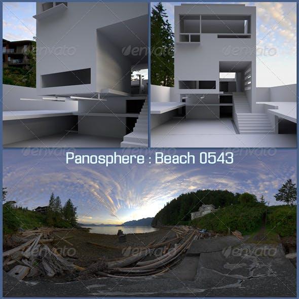 Panosphere HDRI - Beach 0543