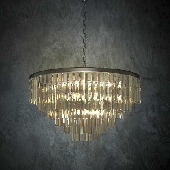 Restoration Hardware ODEON GLASS