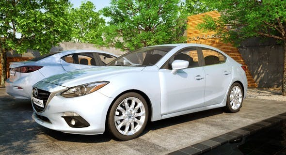 Mazda3 Sedan : CAR4ARCH - 3DOcean Item for Sale