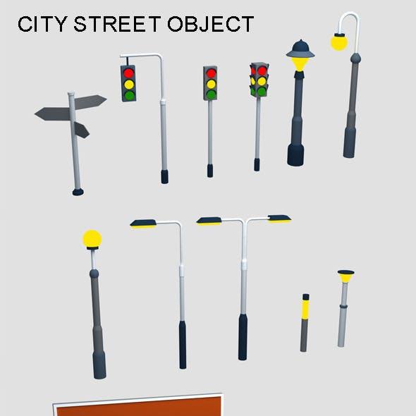 14 Street Objects