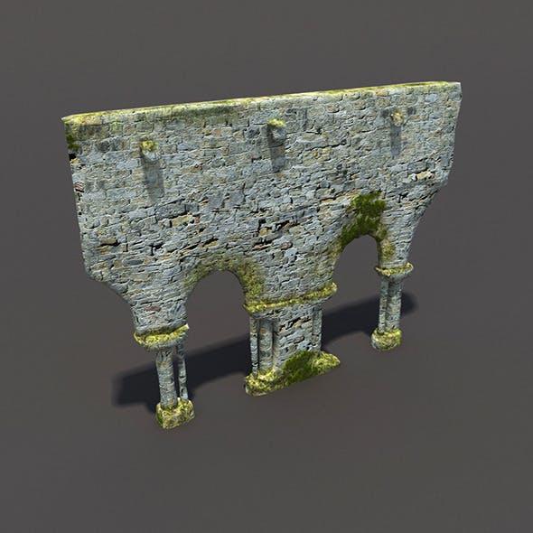 English Castle Ruin #4 - 3DOcean Item for Sale