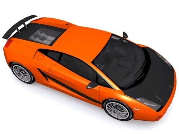 Lamborghini Gallardo Superleggera - 3DOcean Item for Sale