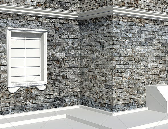 White rock brick texture - 3DOcean Item for Sale