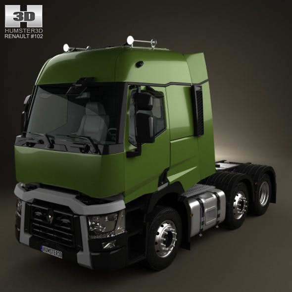 Renault T Tractor Truck 2013 - 3DOcean Item for Sale