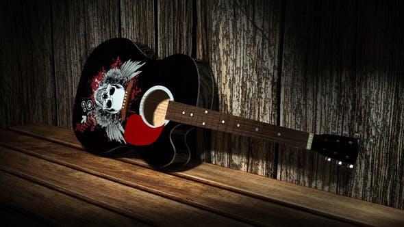 Accoustic Guitar - 3DOcean Item for Sale