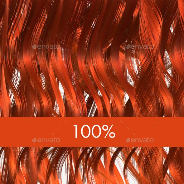 6 Ginger Hair Textures