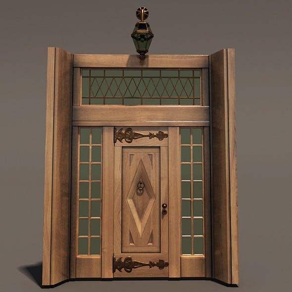 Ornament Wood Door Hi Detail