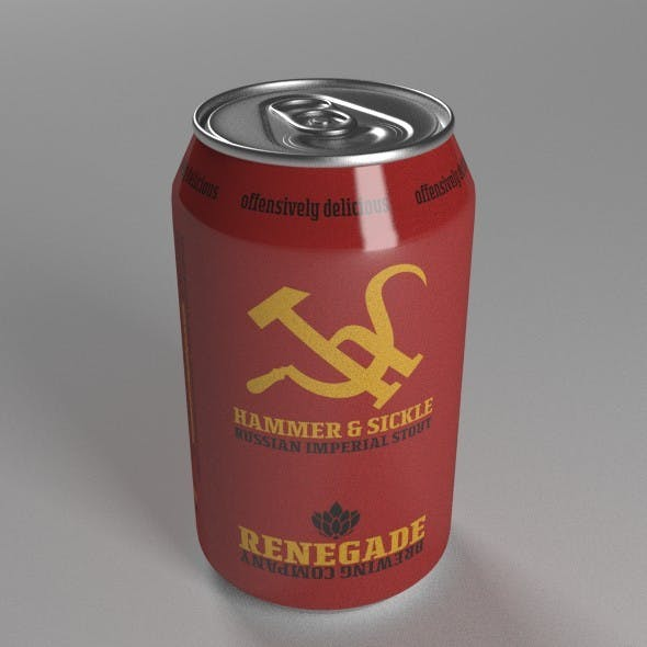 Beer Can - 3DOcean Item for Sale