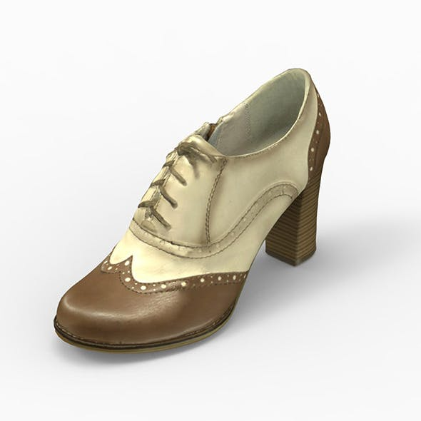 woman shoe - 3DOcean Item for Sale