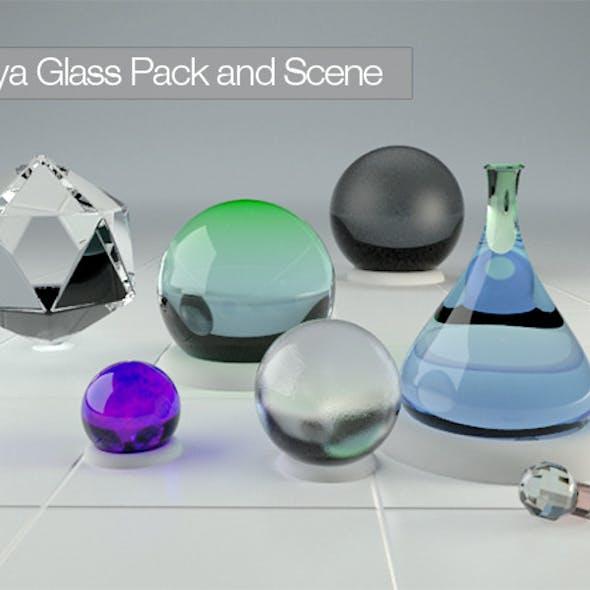 Maya Vray 2.0 Glass Pack