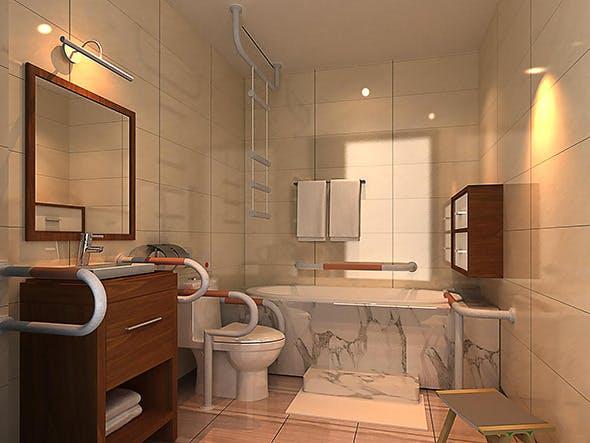 Bath Room  - 3DOcean Item for Sale