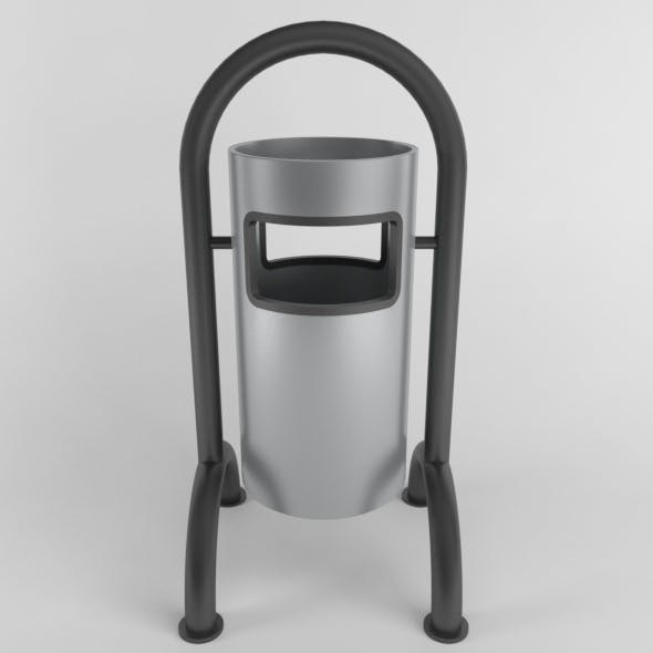 Outdoor Trash Can 06