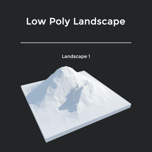 Pack Low Poly Landscape