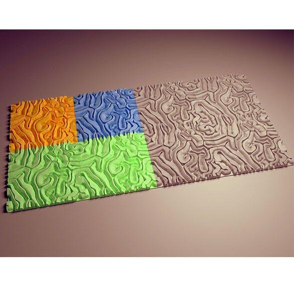 Decorative tiles - 3DOcean Item for Sale
