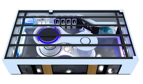 Exhibition Design - 3DOcean Item for Sale