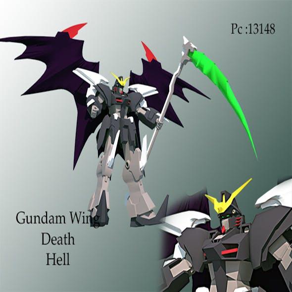 gundam wing death hell