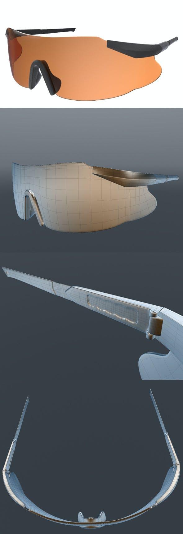 Ballistic_eyewear - 3DOcean Item for Sale