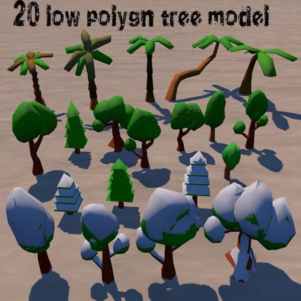 LowPolygon_Tree_Pack