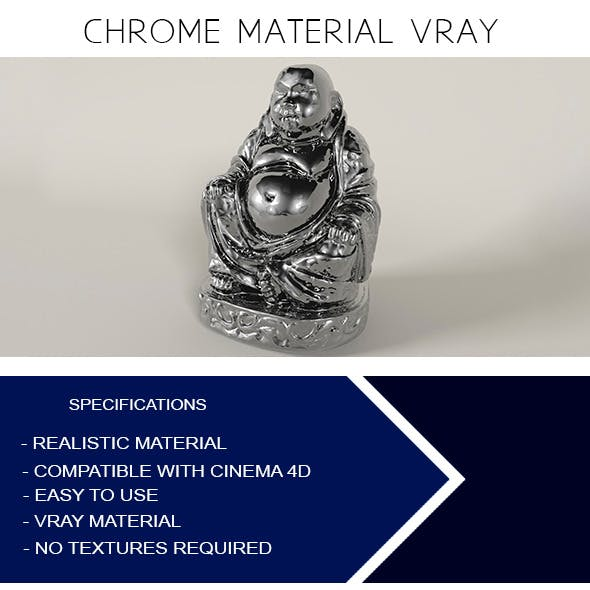 Chrome Material VRay