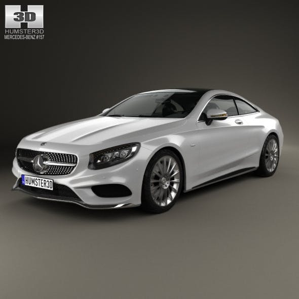 Mercedes-Benz S-Class (C217) coupe AMG Sports Pack - 3DOcean Item for Sale