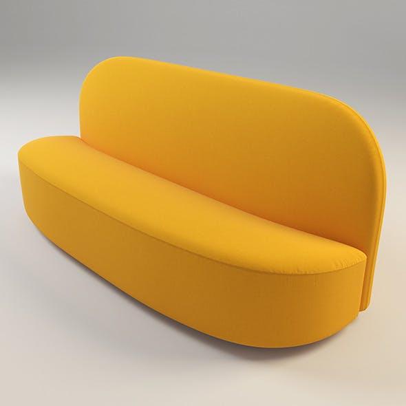 Elysee Sofa - 3DOcean Item for Sale
