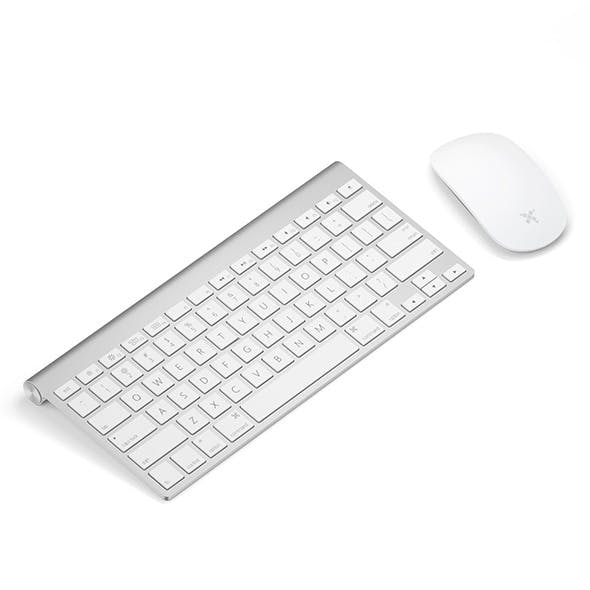 Keyboard with mouse - 3DOcean Item for Sale