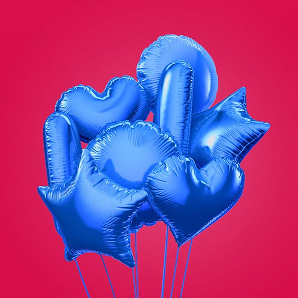 Colorful balloons  - 3DOcean Item for Sale