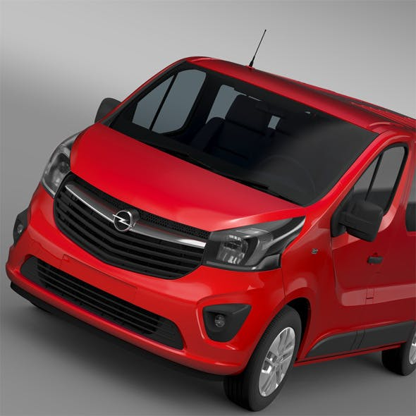 Opel Vivaro 2015 - 3DOcean Item for Sale