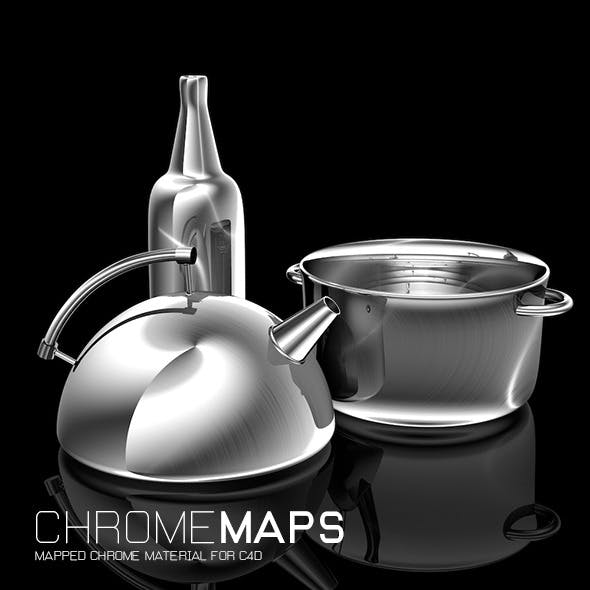 Chrome Maps for C4D - 3DOcean Item for Sale