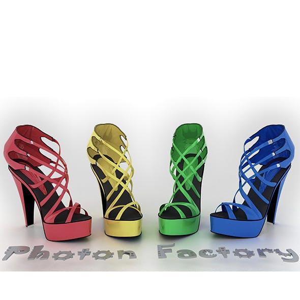 Ladies Heel - 3DOcean Item for Sale