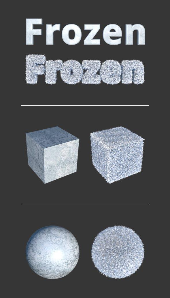 Frozen Materials - 3DOcean Item for Sale