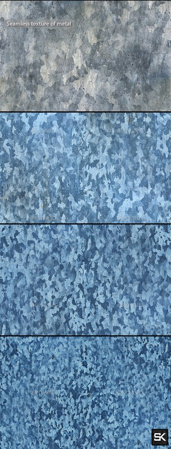 Seamless texture of metal - 3DOcean Item for Sale
