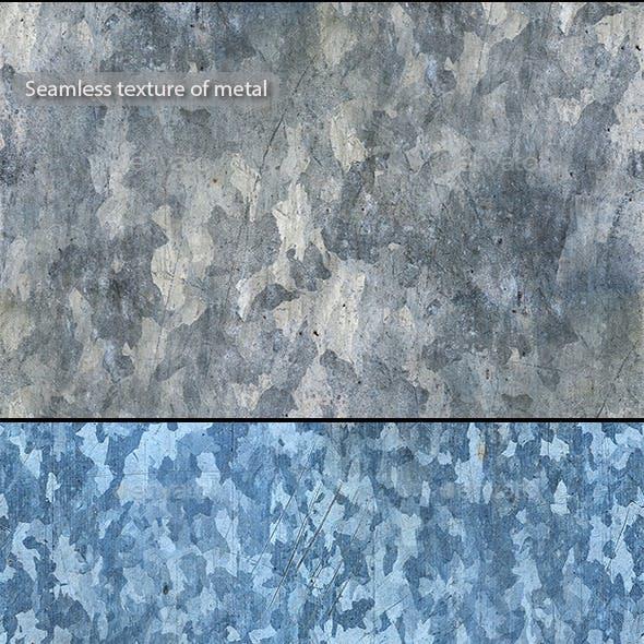 Seamless texture of metal