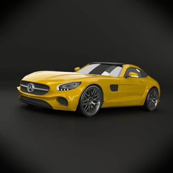 Mercedes benz amg gt 2015 restyled