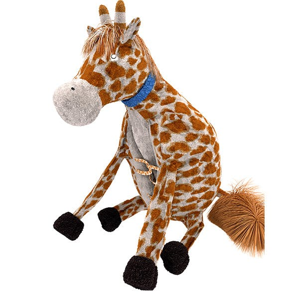 Giraffe Pillow Plush Toy