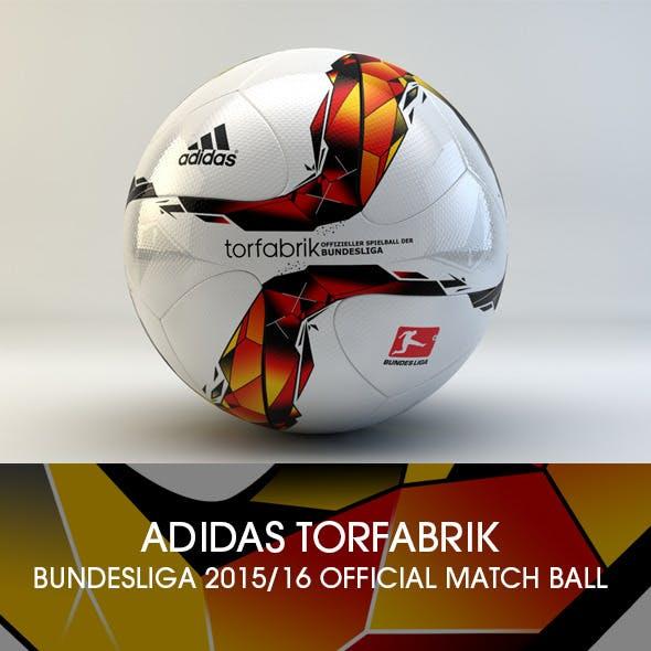 Adidas Torfabrik 2015-2016 3D Model
